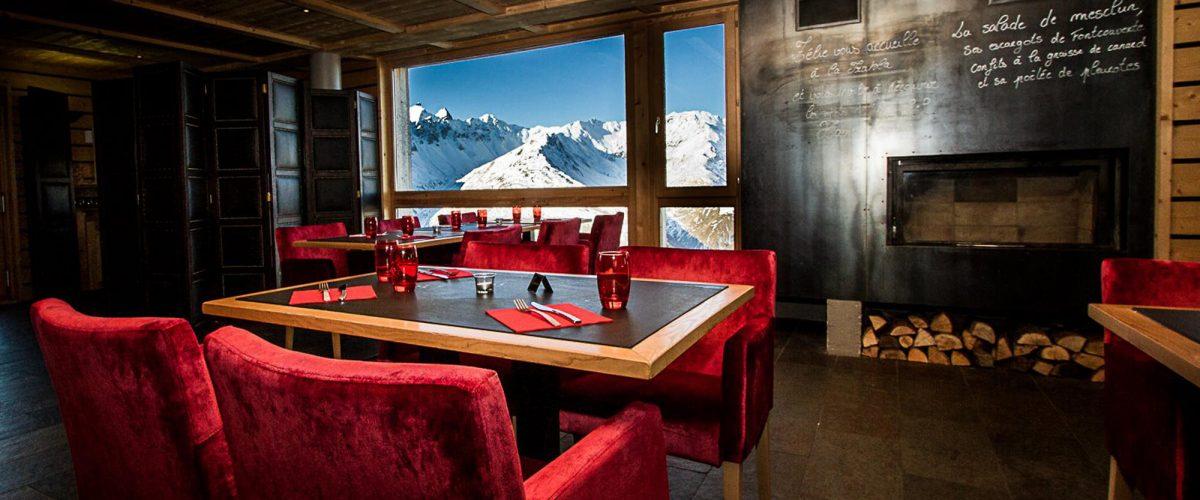 Restaurants on the slopes