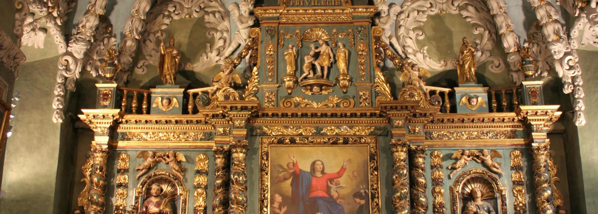 Intérieur de l'église Notre Dame de l'Assomption