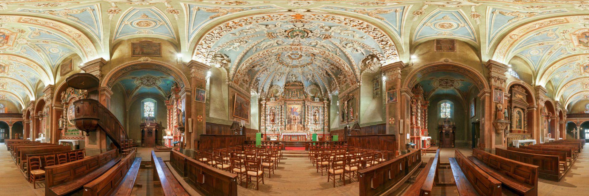 Eglise Notre Dame de l'Assomption - Valloire Galibier, France
