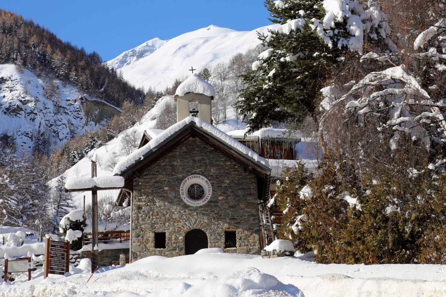 Valloire - La chapelle Saint Bernard