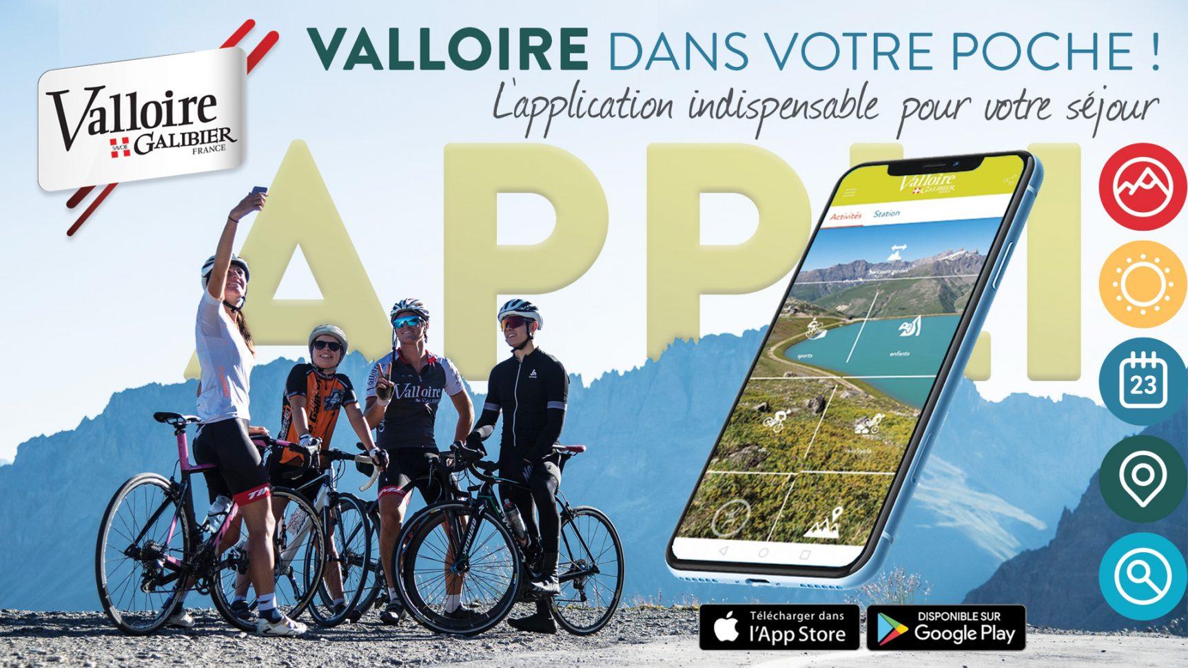 Téléchargez l'appli Valloire pour toutes les informations sur la station