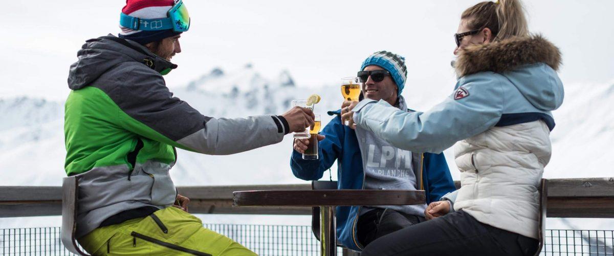 Bars & restaurants on the slopes