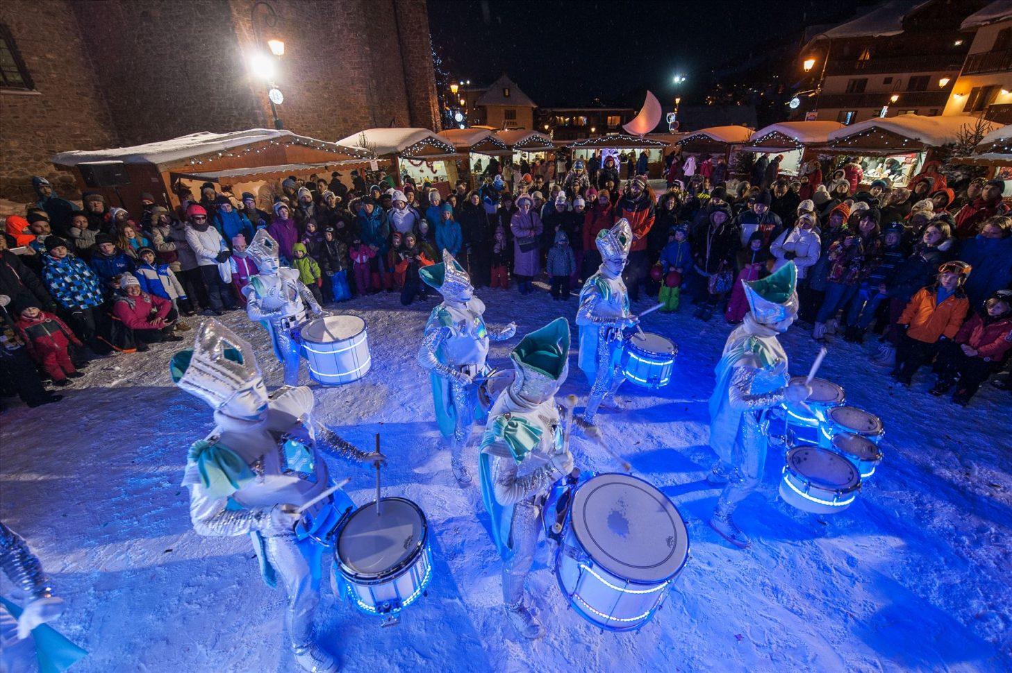 Spectacle Noel magique à Valloire Galibier