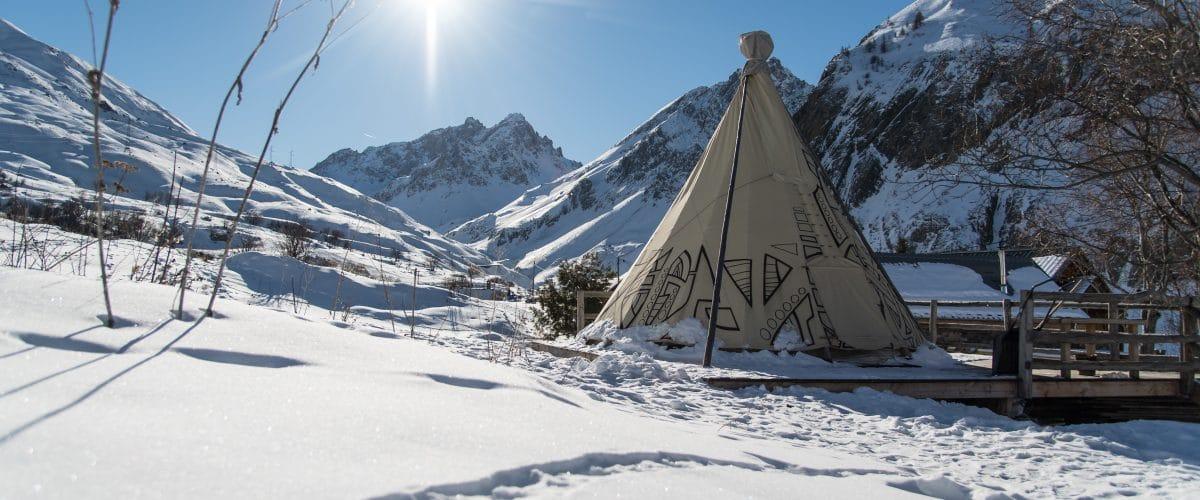 Campsite & unusual accomodation